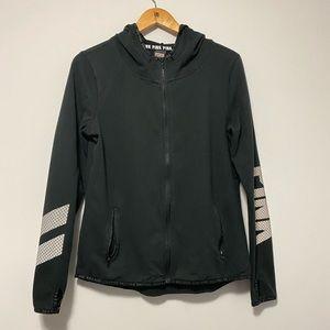Pink Fullzip Hoodie Jacket size M